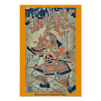 Rajomon por Torii, Kiyonobu Ukiyoe Impresiones
