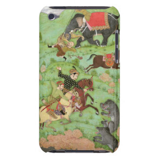 Rajput princes hunting bears; a mahout and his ele barely there iPod case