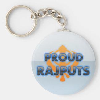Rajputs orgulloso orgullo de Rajputs Llavero Personalizado