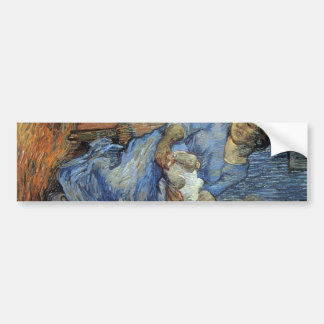 Rake by Vincent van Gogh Car Bumper Sticker