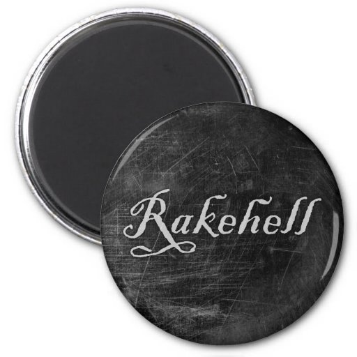 Rakehell 2 Inch Round Magnet