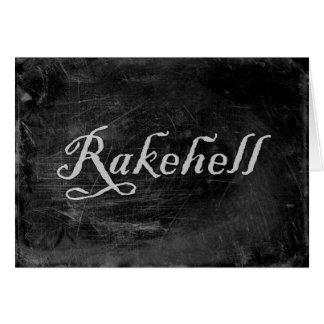 Rakehell Card