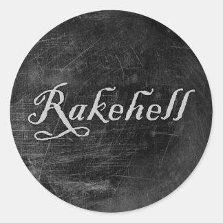 Rakehell Classic Round Sticker
