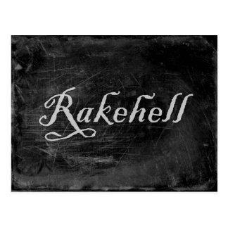Rakehell Postcard