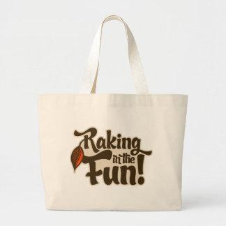 Raking in the Fun Canvas Bag