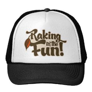Raking in the Fun Hats