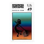 Raking Tumbleweeds Stamp