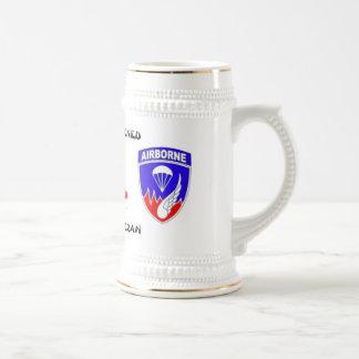 Rakkasan 187th Inf. Reg. Combat (Pre-101st.) Beer Stein