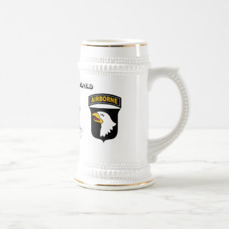 Rakkasan 187th Infantry Regiment Beer Stein