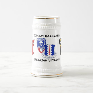 Rakkasan 187th Infantry Regiment Combat Hardened Beer Stein