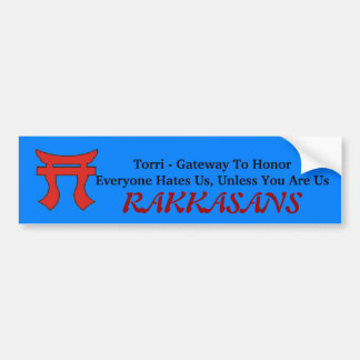 Rakkasans 187th Infantry Bumper Sticker