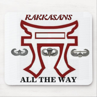 RAKKASANS ALL THE WAY MOUSEPAD