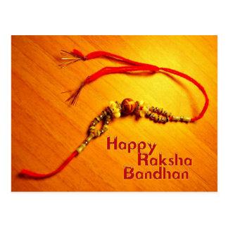 Raksha feliz Bandhan Postal