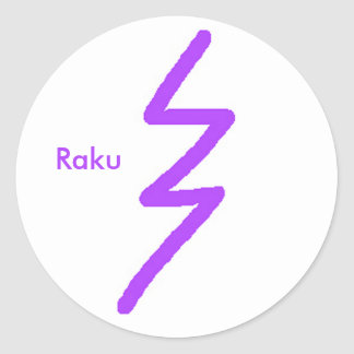 Raku Sticker