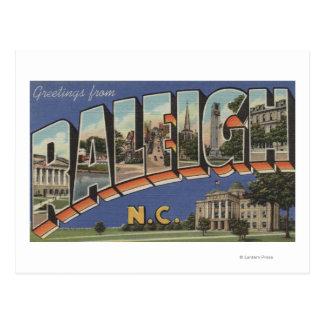 Raleigh, Carolina del Norte - escenas grandes 2 de Tarjeta Postal