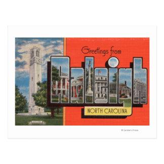 Raleigh, Carolina del Norte - escenas grandes de Postales