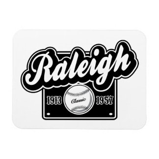 Raleigh Classic Rectangular Photo Magnet