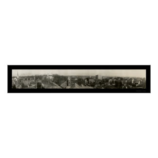 Raleigh, NC Photo 1909 Poster