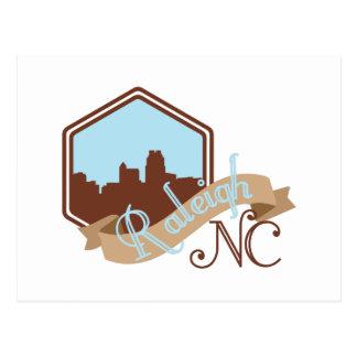 Raleigh NC Postcard