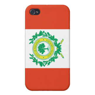 Raleigh, North Carolina Flag iPhone 4/4S Cover