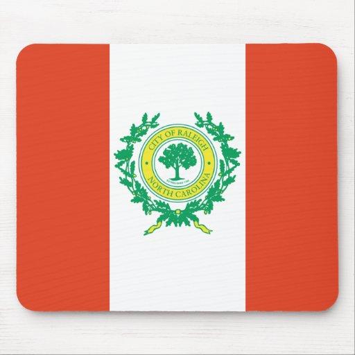 Raleigh, North Carolina Flag Mouse Pad