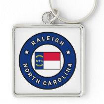 Raleigh North Carolina Keychain