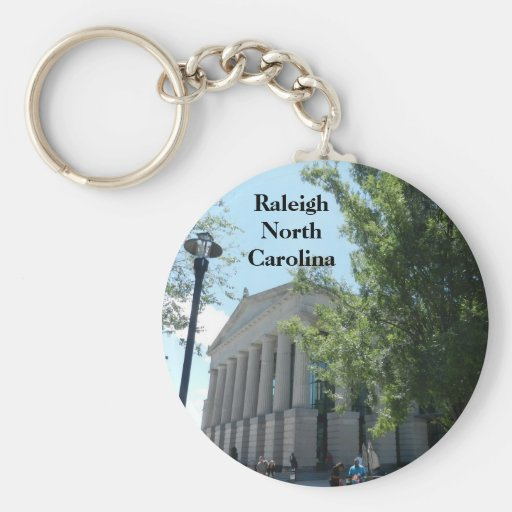 RALEIGH, NORTH CAROLINA keychain