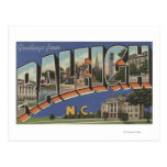 raleigh, north, carolina, large, letter, scenes,