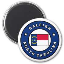 Raleigh North Carolina Magnet