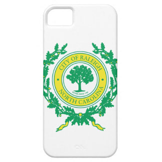Raleigh, North Carolina Seal iPhone 5 Cases