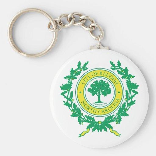 Raleigh, North Carolina Seal Key Chains