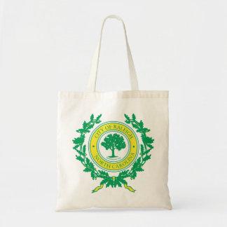 Raleigh, North Carolina Seal Tote Bag