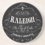 Raleigh, North Carolina - The City of Oaks Sandstone Coaster