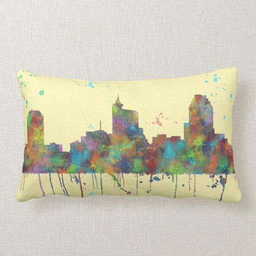 Decorative Pillows Raleigh Nc : RALEIGH, NORTH CAROLINA - Throw pillow Zazzle
