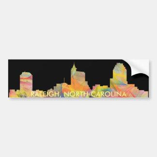 RALEIGH, NORTH CAROLINA WB1 - BUMPER STICKER