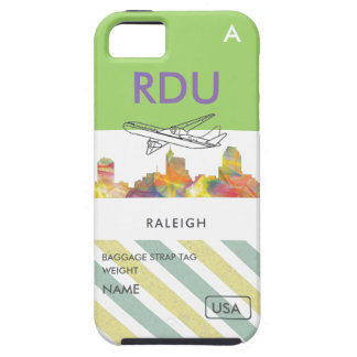 RALEIGH, NORTH CAROLINA WB1 - iPhone SE/5/5s CASE