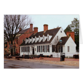 Raleigh Tavern 2 - Williamsburg Greeting Cards