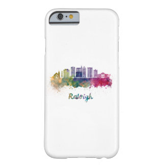 Raleigh V2 skyline in watercolor Barely There iPhone 6 Case