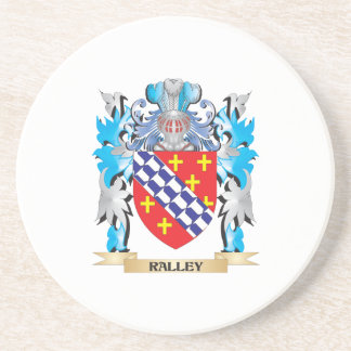 Ralley Coat of Arms - Family Crest Drink Coasters