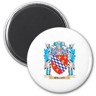 Ralley Coat of Arms - Family Crest Fridge Magnets
