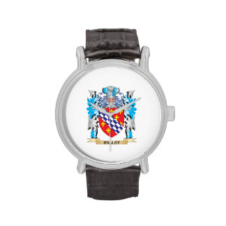 Ralley Coat of Arms - Family Crest Wristwatch