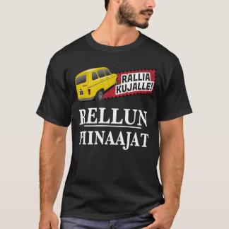 Rallia kujalle - Rellun piinaajat huumoripaita T-Shirt