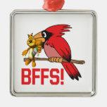 Rally BFFS Christmas Tree Ornaments
