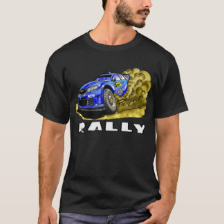 Rally Car In The Dust T-Shirt