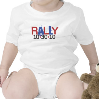 Rally for Sanity Baby Bodysuit