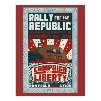 Rally for the Republic Postcard