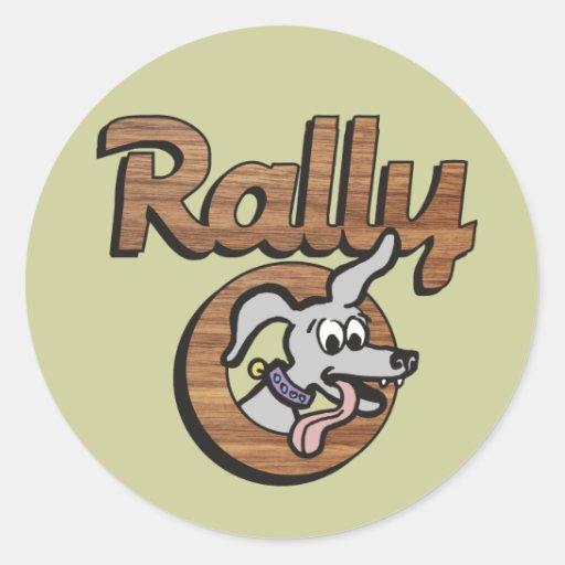 Rally-O 2B Classic Round Sticker