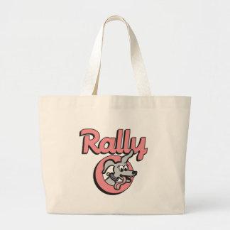 Rally-O 4B Large Tote Bag