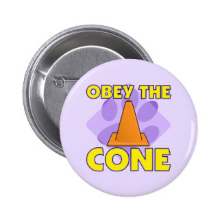 Rally-O Obey the Cone 2 Inch Round Button