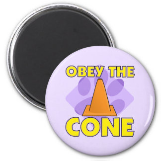 Rally-O Obey the Cone 2 Inch Round Magnet